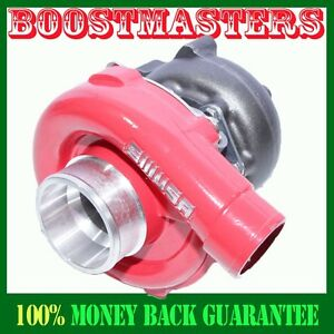 For T3 T4 Hybrid Turbo Charger 50 A R Compressor 63 A R Turbine Red