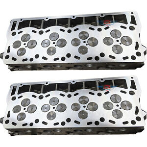 08 10 Ford 6 4 Powerstroke 2 Brand New Loaded Cylinder Heads No Core Charge