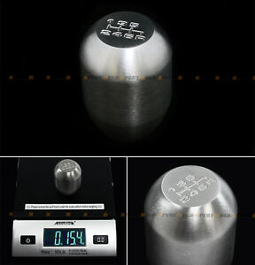 For 2006 2015 Honda Civic Stainless Steel 6 Speed Heavy Weighted Shift Knob