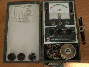 Crt Tubes Tester Dynascan B k 445 Good For Tv And Radio Repair Tool