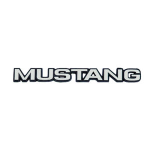 1979 1986 Ford Mustang Rear Trunk Lid Replacement Mustang Letter Word Name Brand