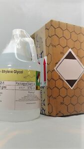 Ethylene Glycol 5 Gallon Hdpe Bottle Msds Included