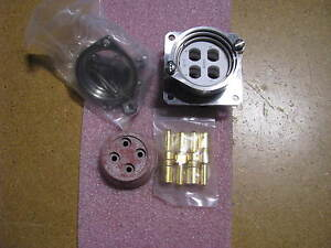 Amphenol Bendix Connector 10 447540 17p Nsn 5935 01 040 0472