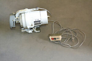 Intersew Industrial Sewing 1 2hp Clutch Motor 1 Phase 5 8a 110v With Control