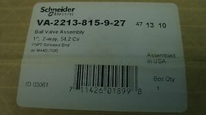 Tac Schneider 1 2 way Duradrive Electric Ball Valve Actuator Va 2213 815 9 27