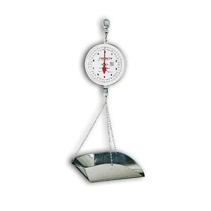 Detecto Scoop Scale 40 Lb 20 Lb X 2 Oz 2 Revolutions 8 Dial W double Dial New