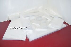500 Clear 12 X 15 Poly Bags Plastic Lay Flat Open Top Packing Uline Best 2 Mil