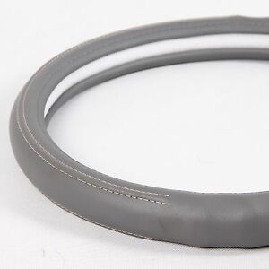 Non Slip Water Stain Resist Steering Wheel Cover Good Fit Grey Color