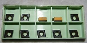 Walter Carbide Inserts Pack Of 10 Ccgt09t302 pf5 Wpp20