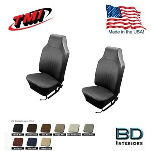 1968 1969 Vw Volkswagen Bug Beetle Slip On Front Seat Upholstery Any Color