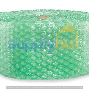 1 2 Sh Recycled Large Bubble Cushioning Wrap Padding Roll 125 X 12 Wide 125ft