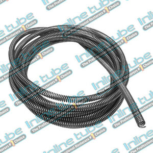 3 16 Brake Line Tube Spring Wrap Armor Guard Cover Tubing Protectant Stainless 5