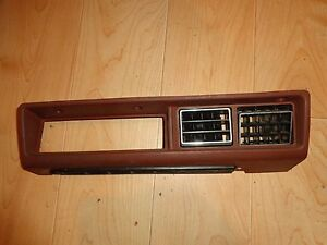 Nissan Datsun 280zx Oem Red Center Ac Vent Console Dash Piece 79 83 Nice