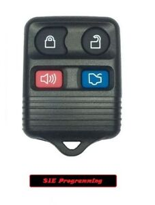 Ford 4 Button Keyless Entry Key Remote Fob Clicker Beeper Alarm