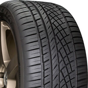 2 New 225 55 17 Continental Extreme Contact Dws06 55r R17 Tires 32207