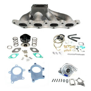 Talon Eclipse Dsm Gsx Gst Tsi 1g 2g 4g63 T3t4 Manifold Turbo Charger Set Up Kit