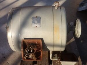 50 Hp 3 Phase Electric Motor 220 440 1180rpm