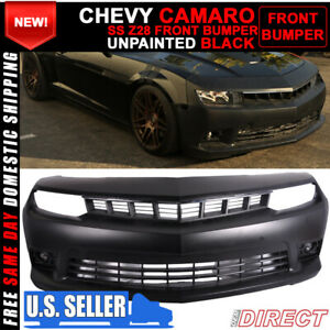 For 14 15 Chevy Camaro Ss Front Bumper Conversion Pp W Fog Lights