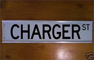 Charger Street Sign Road Sign Bar Sign souvenier Hot Rod
