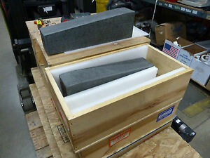 Lot Of 2 Standridge Granite Surface Plates 20 X 4 1 4 X 5 3 4 whse 22 717