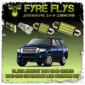 White Led Interior Lights Package Kit 2003 13 Expedition 10 Pcs 3014 Series Smd