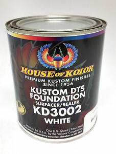 House Of Kolor Dts Foundation Primer Surfacer sealer White Quart