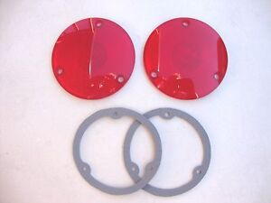 57 58 59 60 61 62 63 64 Ford Truck F100 Taillight Lens And Gasket Kit New