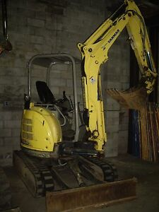 Yanmar Vio 45 With Thumb Mini Excavator 24 Bucket