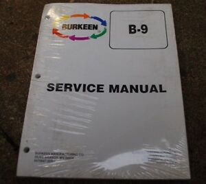 Bobcat T208 T209 Walk Behind Trencher Service Manual Repair Shop Maintenance B9
