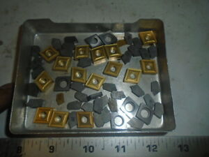 Machinist Tools Lathe Mill Machinist Lot Of Unused Carbide Cutting Insert S 33