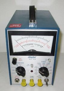 Hickok 1605m Solid State Multimeter