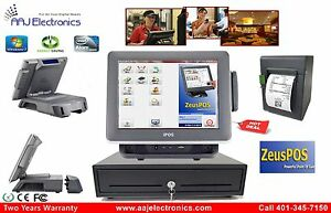 Retail Restaurant All in one Point Of Sale Complete System Pos