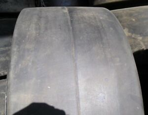2 tires 28x12x22 Tires Advance Solid Forklift Press on Smooth Tire 281222