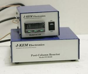 J kem Scientific Post Column Reactor Model Pcr 100 07818