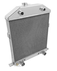 42 43 44 45 46 47 48 Flathead Ford Coupe Champion 3 Row Wr Radiator Cc46fh