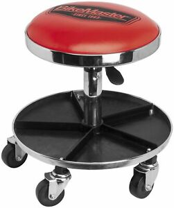 Bikers Bikemaster Ultimate Shop Stool With Tool Caddy Automotive Or Motorcycle
