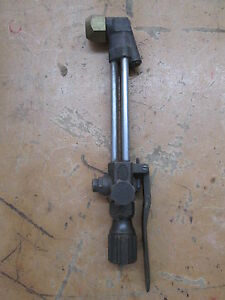 Vintage Harris 73 Handheld Cutting Torch Attachment Welding Handle