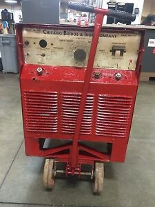 Miller Electric Cbi 400 400 Amp Stick Welder