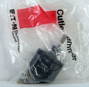 Cutler Hammer Momentary On off momentary On Toggle Switch 8501k2 Ms24524 27 Dpdt
