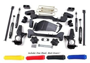 Zone Offroad C4n 6 Full Suspension Lift Kit For 01 10 Chevrolet Gmc 2500 3500hd