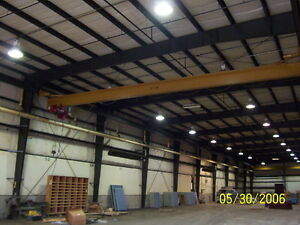 Two 5 Ton Underhung Bridge Cranes With Hoists And Rail