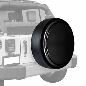 Boomerang painted Rigid Tire Cover Fits Jeep Wrangler Black