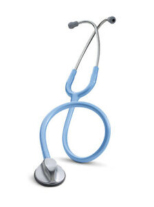 Littmann Master Classic Ii Ciel Blue 3m Stethoscope 27 Steel Finish 2633