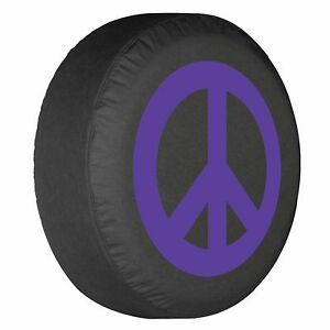 27 Peace Sign Tire Cover Purple Honda Crv Usa