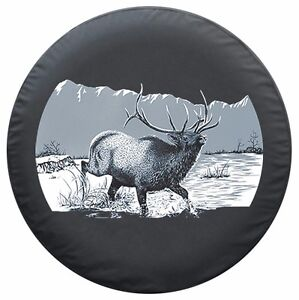 35 Wildlife Tire Cover Elk Made In The Usa