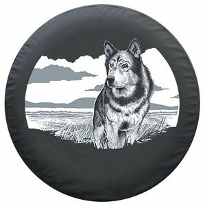 29 Wildlife Tire Cover Wolf Fits Jeep Wrangler Tj Usa
