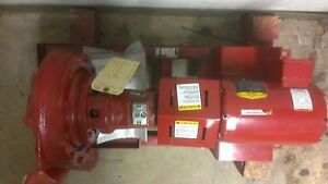 Bell Gossett 2 Hp Circulating Pump Assembly 1510 Bf 7 0