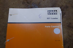Case 921 Front End Wheel Loader Parts Manual Book Catalog 1993 Spare Rubber Tire