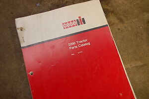 Case 2096 Tractor Loader Parts Manual Book Catalog List Spare Front End Shop