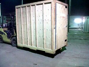 5x8 Storage Container Wood Shipping Crate